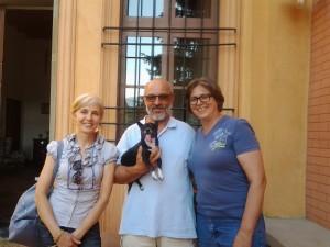 Vittoria, Michele e Malina